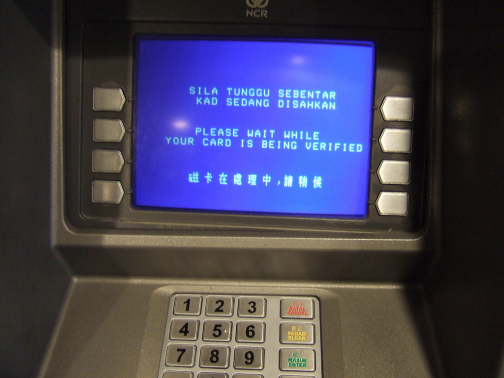 withdraw money